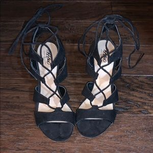 Shoes - Strappy Gladiator Heels